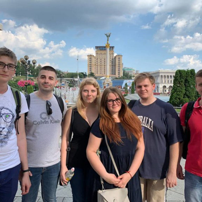 Cовместное путешествие команды EXPANS в Киев