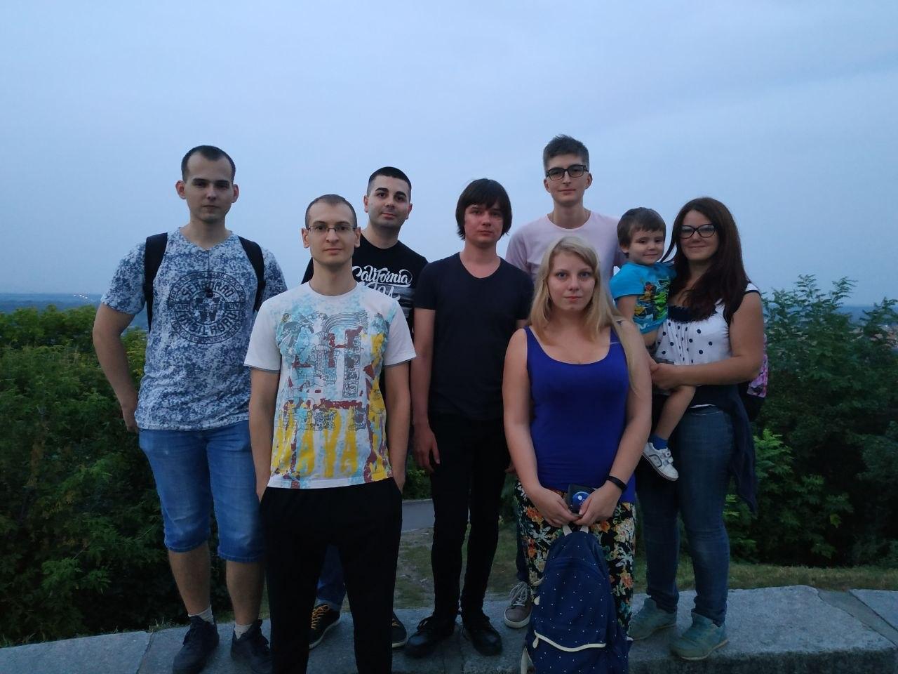 Первая встреча: Полтава